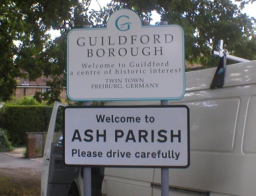 GUILDFORD BOROUGH COUNCIL/ASH PARISH COUNCIL