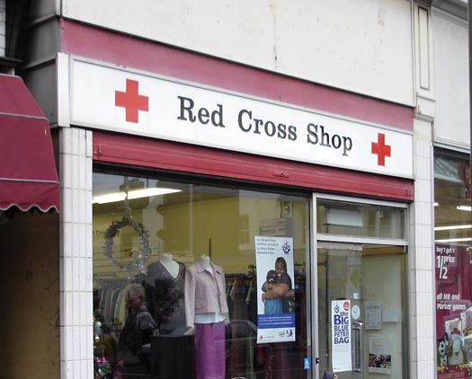 RED CROSS SHOP