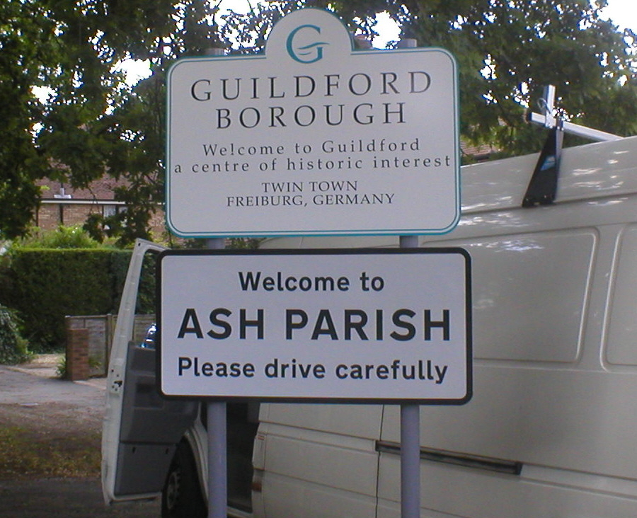 GUILDFORD BOROUGH COUNCIL & ASH PARISH
