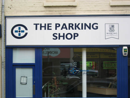 THE PARKING SHOP