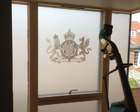 Etched effect manistefations